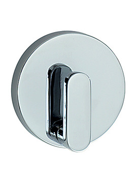 Smedbo Loft Polished Chrome Single Towel Hook