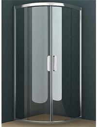 Tavistock Oxygen 8 800mm Double Sliding Door Shower Quadrant