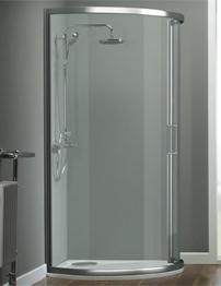 Tavistock Oxygen 8 1000mm Sliding Door Bow Quadrant Shower Enclosure