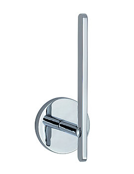 Smedbo Loft Polished Chrome Spare Toilet Roll Holder