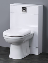 Essential Pearl White Back To Wall WC Unit