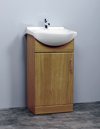 Essential Gem Calvados 450mm Vanity Basin and Unit