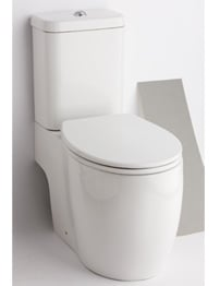 Essential Eternity Square Open Back To Wall WC Set