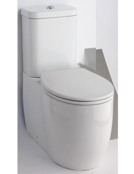 Essential Eternity Square Fully Open Back To Wall WC Set