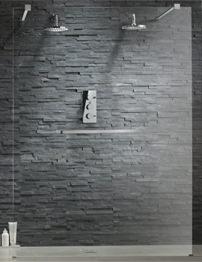 Tavistock Oxygen 8 900mm Wetroom Deflector Panel