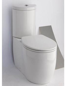 Essential Eternity Classic Fully Open Back To Wall WC Set
