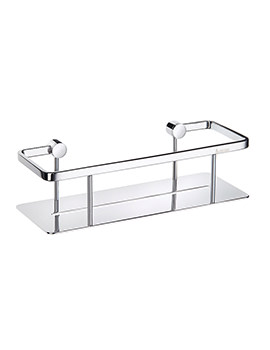 Smedbo Pool Polished Chrome 1 Level Soap Basket