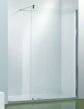 Kudos Ultimate LH Flat Walk-In Enclosure 1700mm With Shower Tower Recess