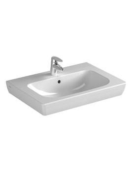 Vitra S20 Single Tap Hole 650mm Vanity Basin