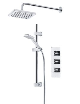 Tavistock Logic Thermostatic Concealed Shower Valve With Shower Set