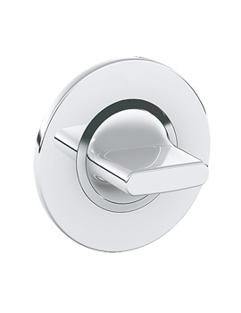 Grohe Spa Ondus Concealed Stop Valve Trim Chrome