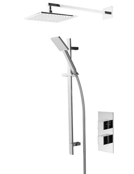 Tavistock Index Thermostatic Concealed Diverter Valve With Shower Set