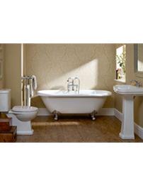 Essential Iris White Cloakroom Suite
