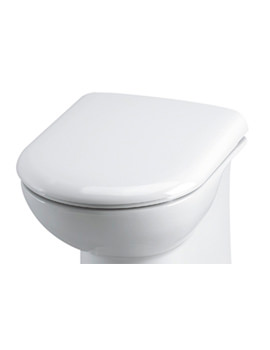Essential Gem White Soft Close Seat