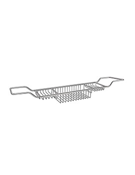 Smedbo Sideline Polished Chrome Bath Rack