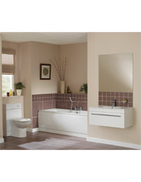 Essential Pearl White Cloakroom Suite