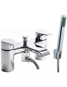 Tavistock Blaze Deck Mounted Bath Shower Mixer Tap And Handset