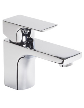 Tavistock Siren Mini Basin Mixer Tap With Click Waste