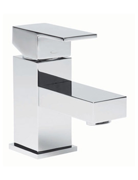 Tavistock Index Mini Basin Mixer Tap With Click Waste