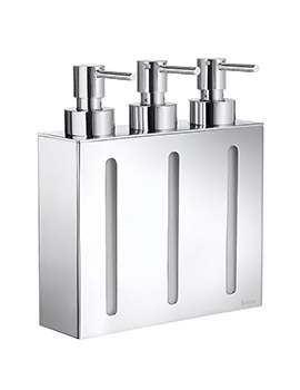 Smedbo Outline Soap Dispenser With 3 Containers