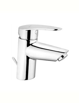 VitrA Dynamic Basin Mixer Tap Chrome With Pop-Up Waste