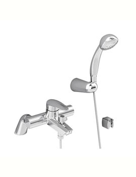 VitrA Dynamic Bath Shower Mixer Tap Chrome