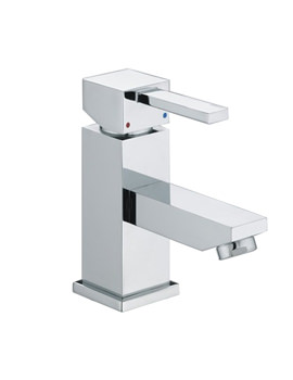 Bristan Quadrato Small Basin Mixer Tap