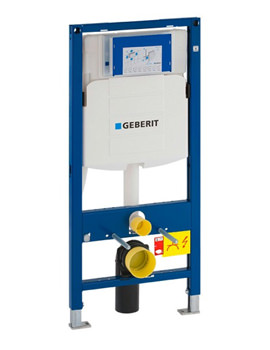 Geberit Duofix 1120mm High WC Frame With Sigma 12cm Cistern UP320
