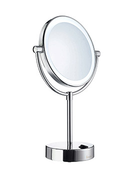 Smedbo Outline 180mm LED Shaving And Make-Up Round Mirror