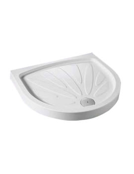 Kudos Concept 2 Peninsula Shower Tray 1200 x 910mm