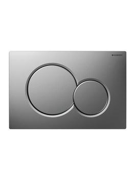 Geberit Sigma01 Matt Chrome Dual Flush Plate