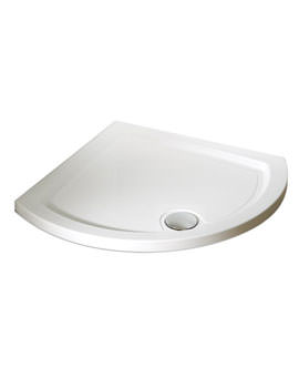 Kudos Concept 2 Curved Corner Low profile Shower Tray 910 x 910mm