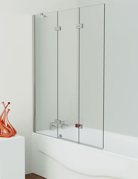 Kudos Inspire 3 Panel In-Fold Bath Screen 1500 x 1250mm