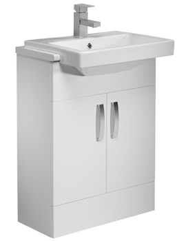 Tavistock Courier 600mm Semi Countertop Vanity Unit