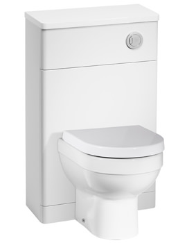 Tavistock Desire 500mm White Gloss Back To Wall WC Unit