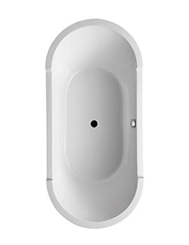 Duravit Starck 1900 x 900mm Oval Double Ended Built-In Bath