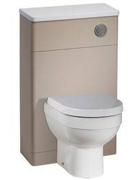 Tavistock Desire 500mm Putty Finish Back To Wall WC Unit