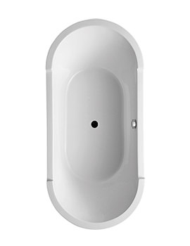 Duravit Starck 1900 x 900mm Oval Double Ended Freestanding Bath