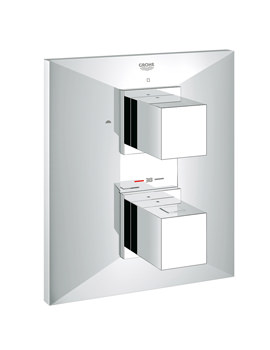 Grohe Spa Allure Brilliant Thermostatic Concealed Bath Shower Mixer Valve