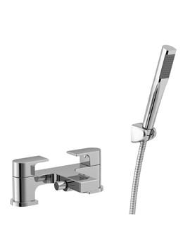 Essential Dusk 2 Hole Bath Shower Mixer Tap