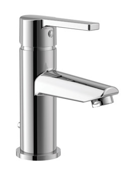 Essential Dawn Basin Mixer Tap With Click Clack Waste