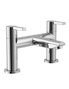 Essential Dawn Chrome 2 Hole Bath Filler Tap
