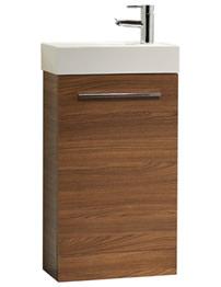 Tavistock Kobe 450mm Walnut Finish Freestanding Unit With Basin