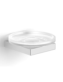 Essential Urban Square Soap Dish With Holder