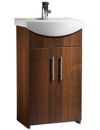 Tavistock Opal 500mm Walnut Freestanding Unit With Basin