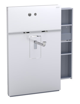 Geberit Umbra Monolith Sanitary Module With Right Drawer
