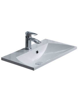 Roper Rhodes Cypher 600mm Isocast Gelcoat Basin For Furniture