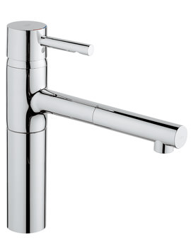 Grohe Essence Sink Mixer Tap With Pull Out Mousseur Chrome