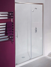 Balterley Framed Single Sliding Shower Door 1500mm