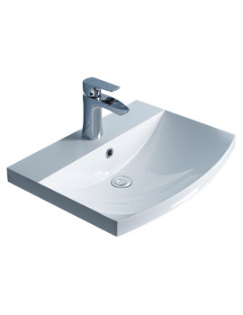 Roper Rhodes Serif 600mm Isocast Gelcoat Basin For Furniture